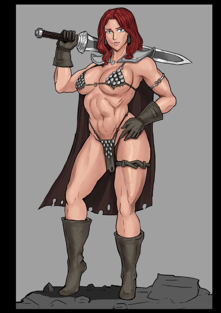 RedSonja For Now by Lichen93