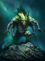 The Creature by PReilly