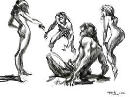 5 minute sketch by PReilly