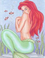 Underwater Ariel by crystalunicorn83