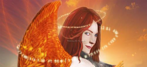 Regalia of the Firebird by heavencall