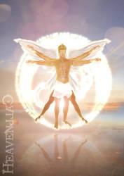 Vitruvian Angel by heavencall