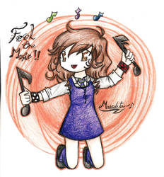 Feel the music by LaSombraMasOscura