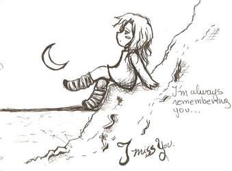 I miss you by LaSombraMasOscura