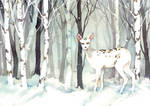 Winter Forest by hanwoul0305