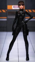 New Girl WIP Spy by Perilous-Renders