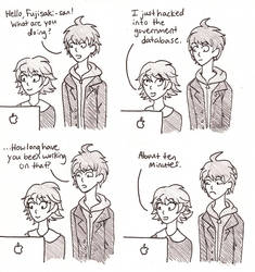 a dumb comic by Pinnithin