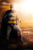 Adam West R.I.P. by Bryanzap