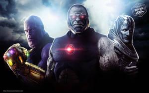Thanos - Darkseid - Apocalypse Art by Bryanzap