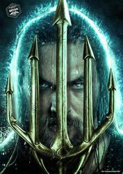 Aquaman Trident by Bryanzap