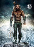 Aquaman Movie Poster by Bryanzap