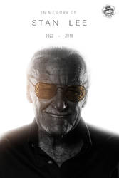 Stan Lee R.I.P. by Bryanzap