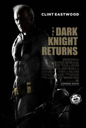 The Dark Knight Returns Clint Eastwood by Bryanzap