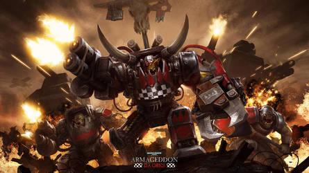 warhammer 40k - da orks by A-u-R-e-L