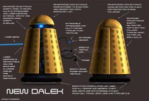 New Dalek by Colourbrand