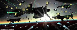 Battletech Orbital Conflict by Colourbrand