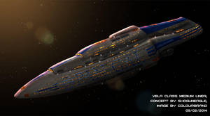 Commissioned: Vela Starliner Concept by Colourbrand