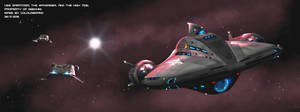 The USS Saratoga, the High Tide, and the Waverider by Colourbrand