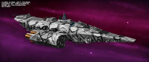 Commissioned: Vlaew class light cruiser by Colourbrand