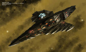Commissioned: Rebel Vashta Warship by Colourbrand