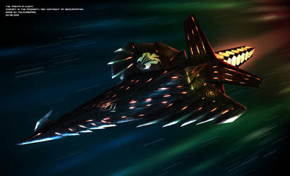 Commissioned: The Vastha in flight by Colourbrand