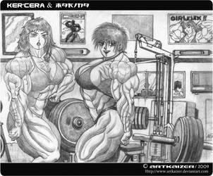 Marina meets Kercera by Artkaizer