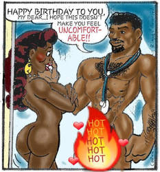 Uncomfortable Happy Birthday ANOTHER HOT FIRE EDIT by cartoonjoe2011