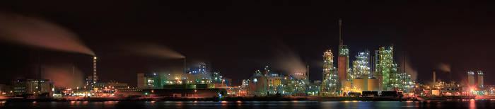 Dupont panorama nightshot by avdstelt