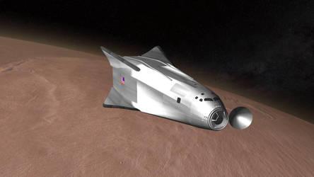 Mars Ascent / Descent Vehicle by francisdrakex