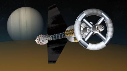 ILSE over Titan by francisdrakex