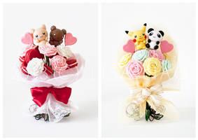 Handmade Character Bouquets by li-sa
