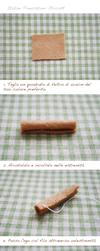 [Italian] Felt cake tutorial- egg roll by li-sa