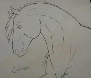 Calimero: Sketch by Sakkeh
