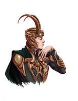 Loki by selena-goulding