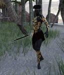Ebony Warrior by Luddox