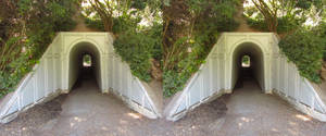 Stereograph - Tunnel by alanbecker
