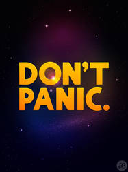 Don't panic. by pica-ae