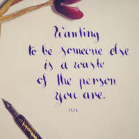 Wanting to be someone else... by pica-ae