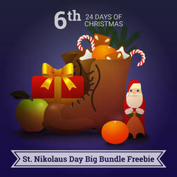 24 Days of Christmas - St. Nikolaus Day Bundle by pica-ae