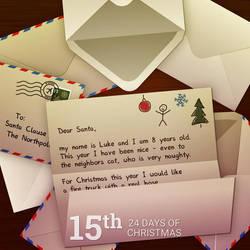 Dear Santa! by pica-ae