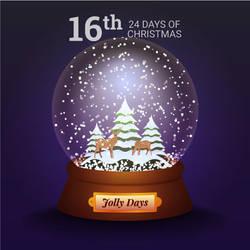 Jolly Days Snowglobe by pica-ae