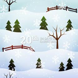 Winter Landscape by pica-ae