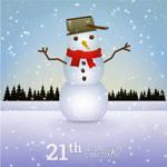 Snowman by pica-ae
