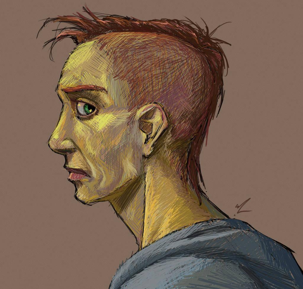 Profileman by MadGeneticist