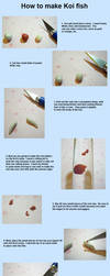 Koi Tutorial from Polymer Clay 1/3 by SmallCreationsByMel