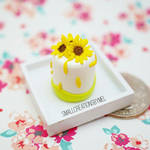 Sunflower Cake by SmallCreationsByMel