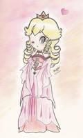 angelic Princess Peach by beckyboc