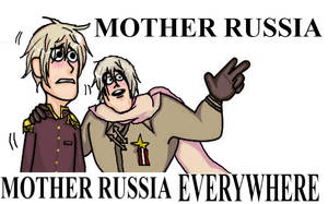 Mother Russia Everywhere by xNeon-KiwiX