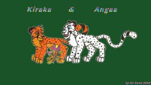 Kiraka and  Angaa by darkness-angel