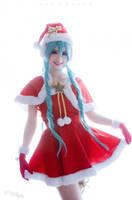 Hatsune Miku Merry christmas by Maysis